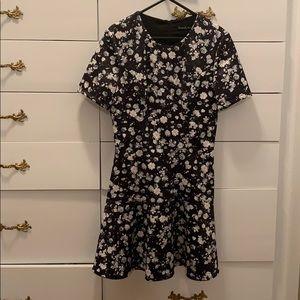 Honey & Beau Cute Floral Short Dress